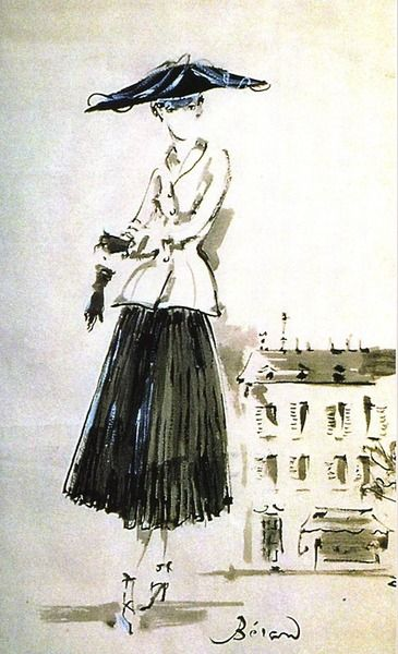 Christian Dior illustration