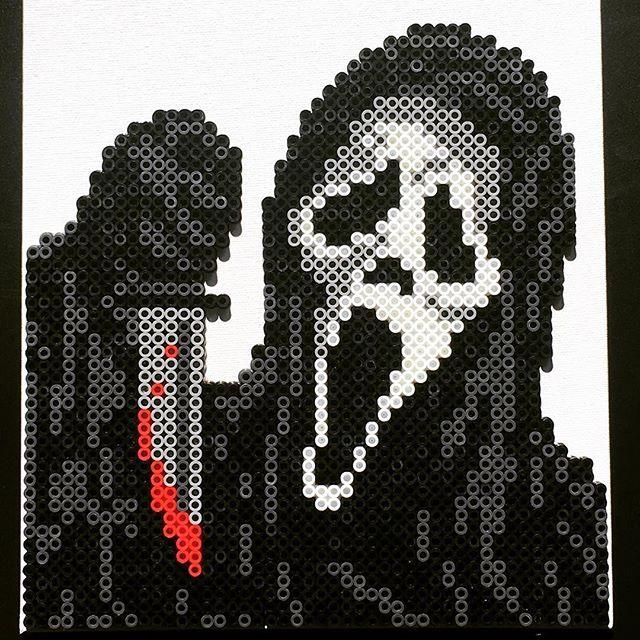 What's your favorite scary movie? . . . . . #ghostface #scream #horror #october #halloween #halloween2017 #perler #perlerbeads #perlerart #perlerbead #perlerartist #perlerbrand #perlers #katsprites #etsy #etsyseller #etsyshop #etsyfinds #etsyowner #imadethis #diy #art #artistsoninstagram #perlersofinstagram #movies #movie #horormovie #trickortreat #scary #