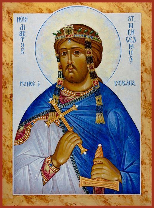 St. Wenceslaus the King of Bohemia