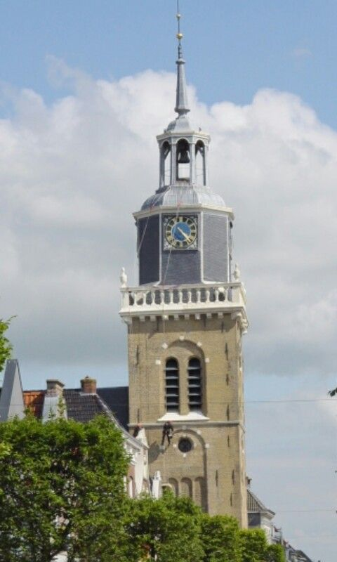 Church tower N.H Joure year 1628 (Friesland ) The Netherlands