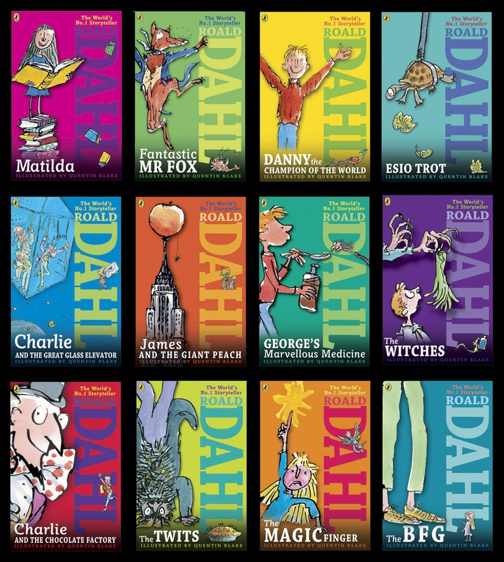 Cool Book Cover Uk ~ Check out the cool looking roald dahl covers from puffin