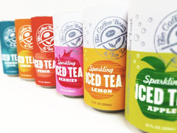 Iced Tea Packaging for The Coffee Bean 2013