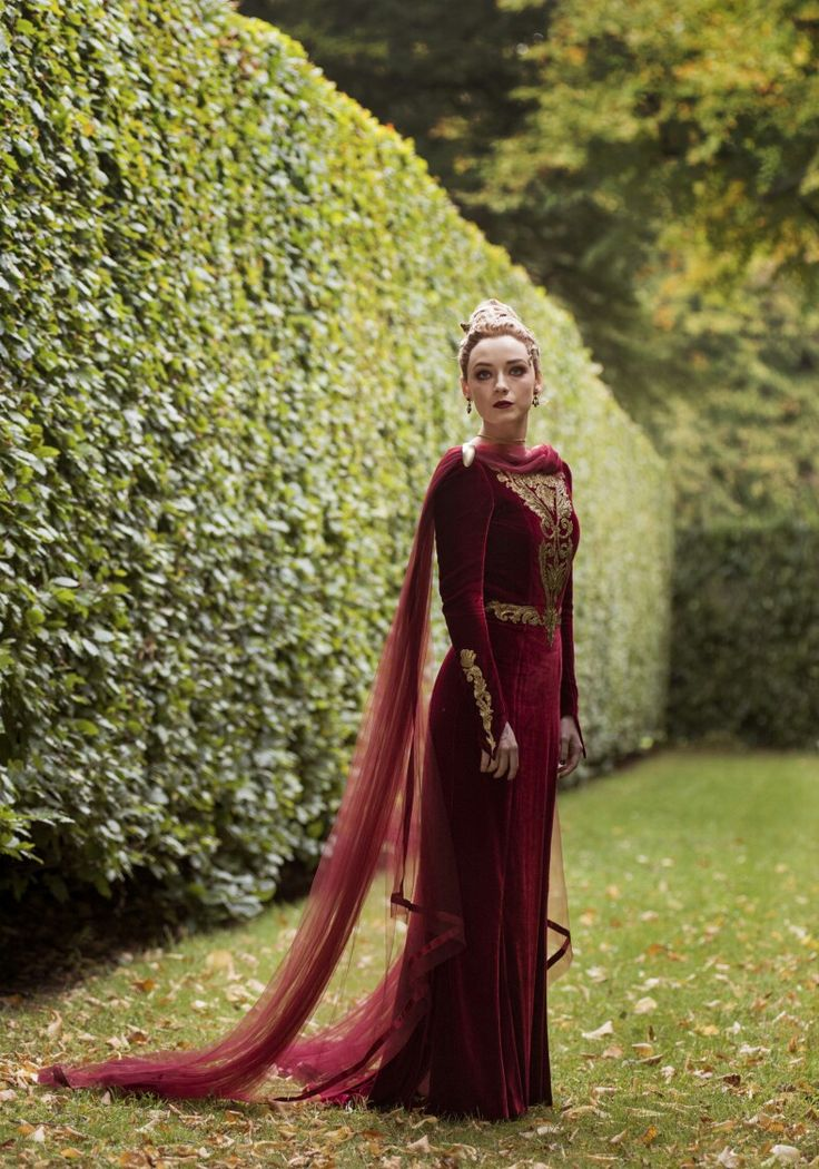 "Sarah Bolger in ""Into the Badlands."""