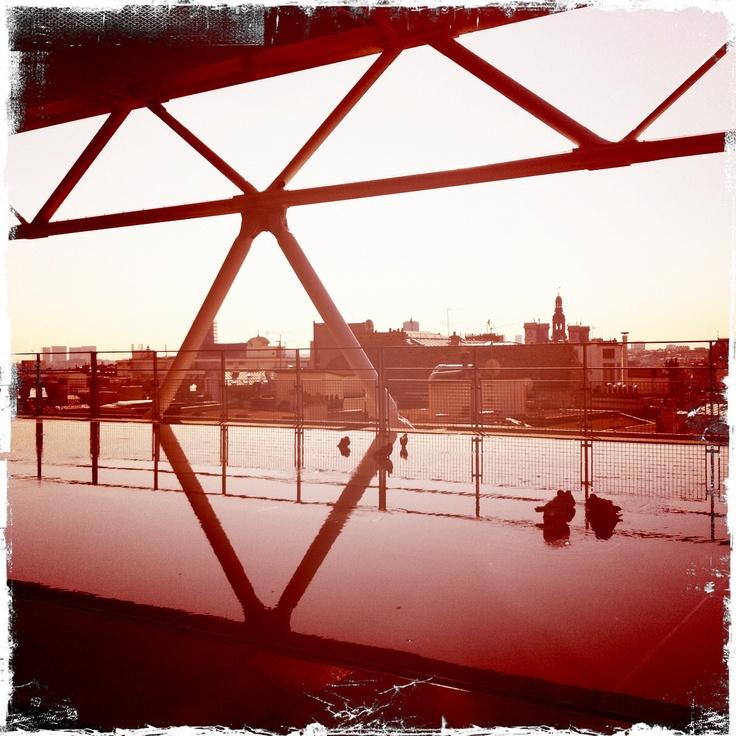 paris, Centre pompidou_hipstamatic image by Pom Kimber