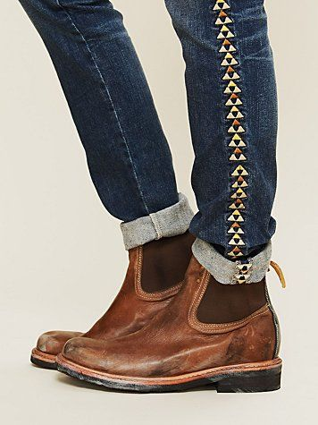 Interchange Work Chelsea Boot & Tribal Jeans