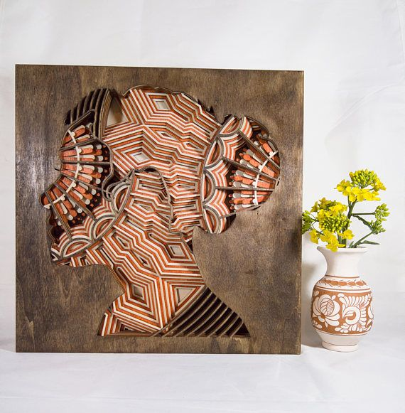 Hey, I found this really awesome Etsy listing at https://www.etsy.com/listing/571773971/layered-wood-sculpture-lady