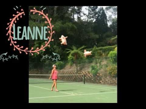 The things we do on our tennis court at Montville Mountain Inn Resort - YouTube
