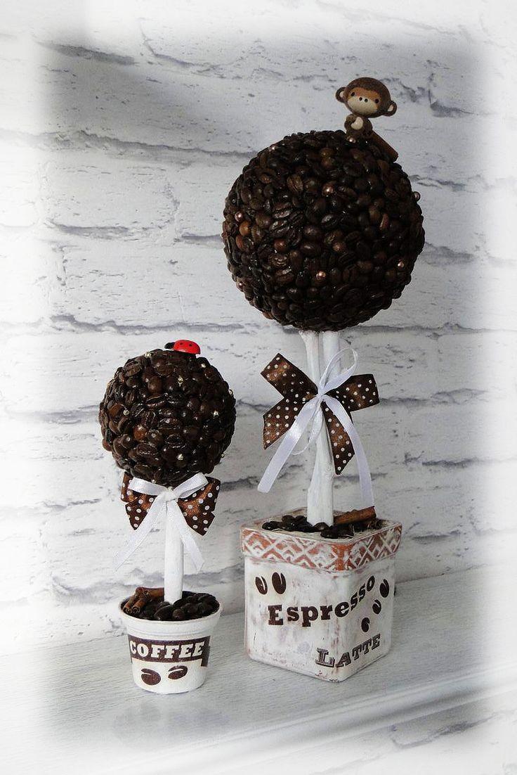 Топиарий - кофейные деревца