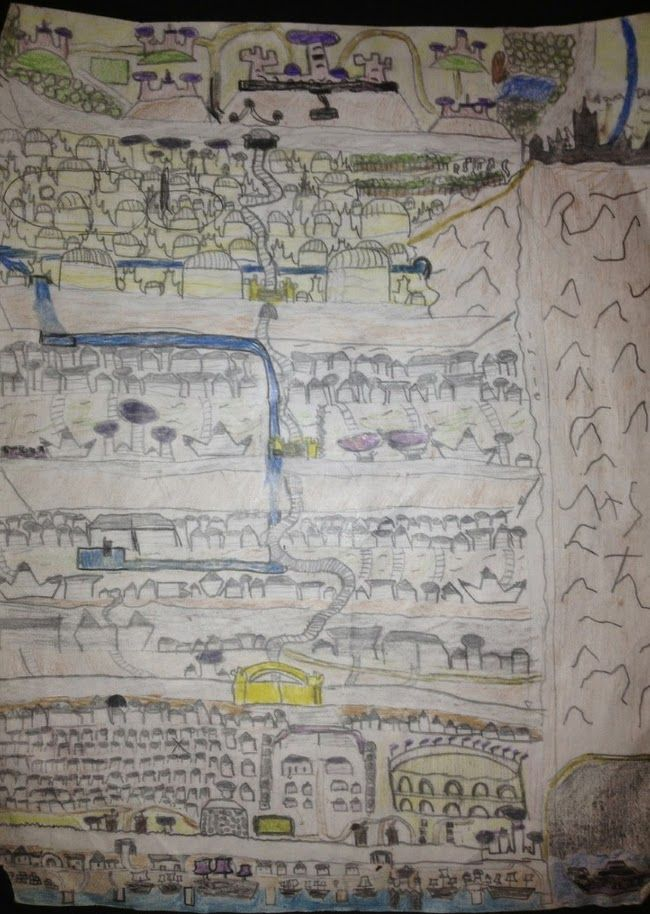 Jeff's Map of the city of Genaya