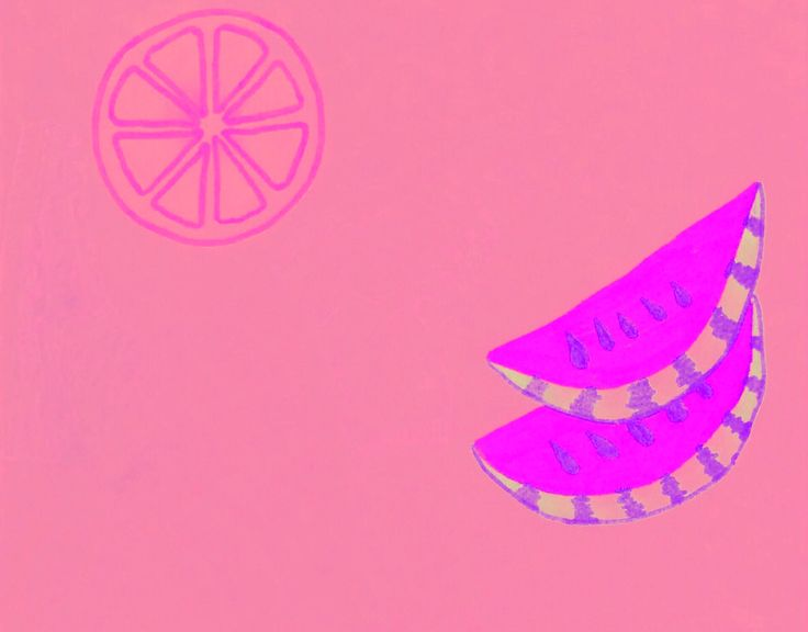 Physcadelic fruit doodle 1/2 by Lily Jones
