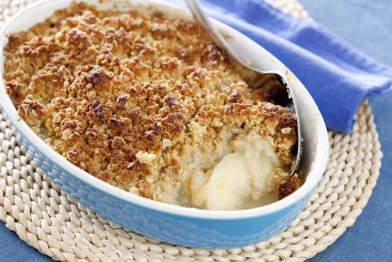 This Apple and Feijoa Crumble has to be one of the best I have ever made, it is delicious served with Cream....Lynette