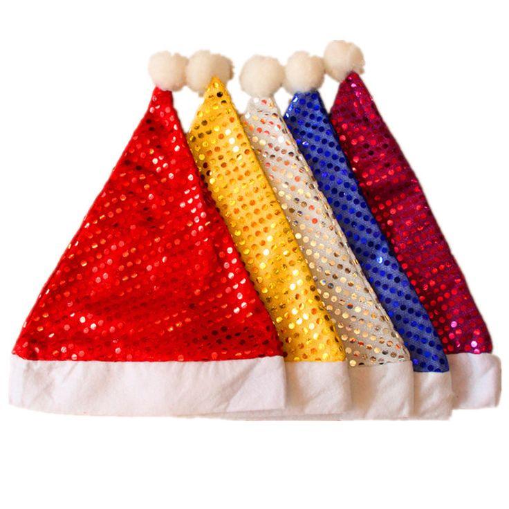 $1.15 (Buy here: https://alitems.com/g/1e8d114494ebda23ff8b16525dc3e8/?i=5&ulp=https%3A%2F%2Fwww.aliexpress.com%2Fitem%2FHot-5-Color-New-Arrial-Christmas-Sequin-Hat-Cap-Santa-Claus-Father-Xmas-Caps-Hat-Gift%2F32718448123.html ) Hot 5 Color New Arrial Christmas Sequin Hat Cap Santa Claus Father Xmas Caps Hat Gift Christmas Decoration Ornaments L3 for just $1.15
