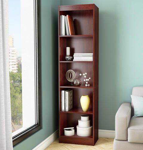 Axess Narrow Cherry Bookcase - Art Van Furniture
