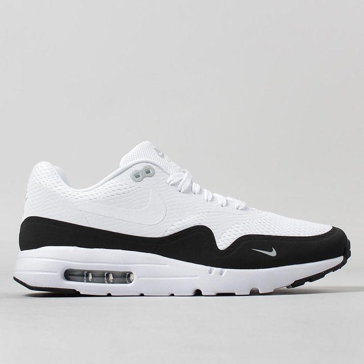 Nike Air Max 1 Ultra Essential Shoes - White/White
