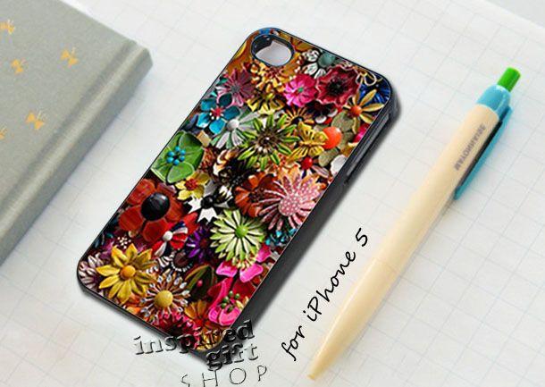 floral flower - design case for iPhone 5