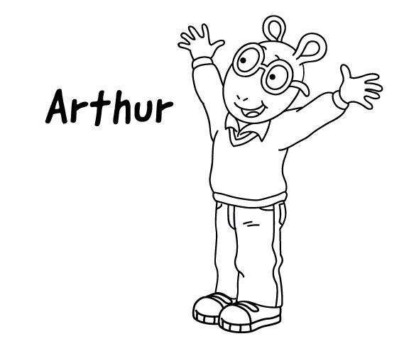 Mejores 19 imágenes de Arthur Coloring Pages en Pinterest | Hojas ...