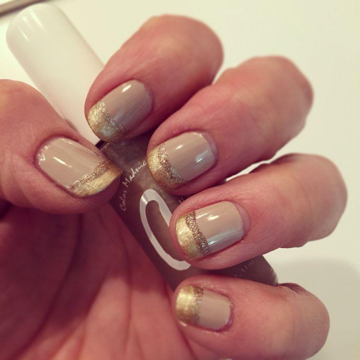 #nails #nailart #essie #gold #holiday #holidays #rimmellondoncanada
