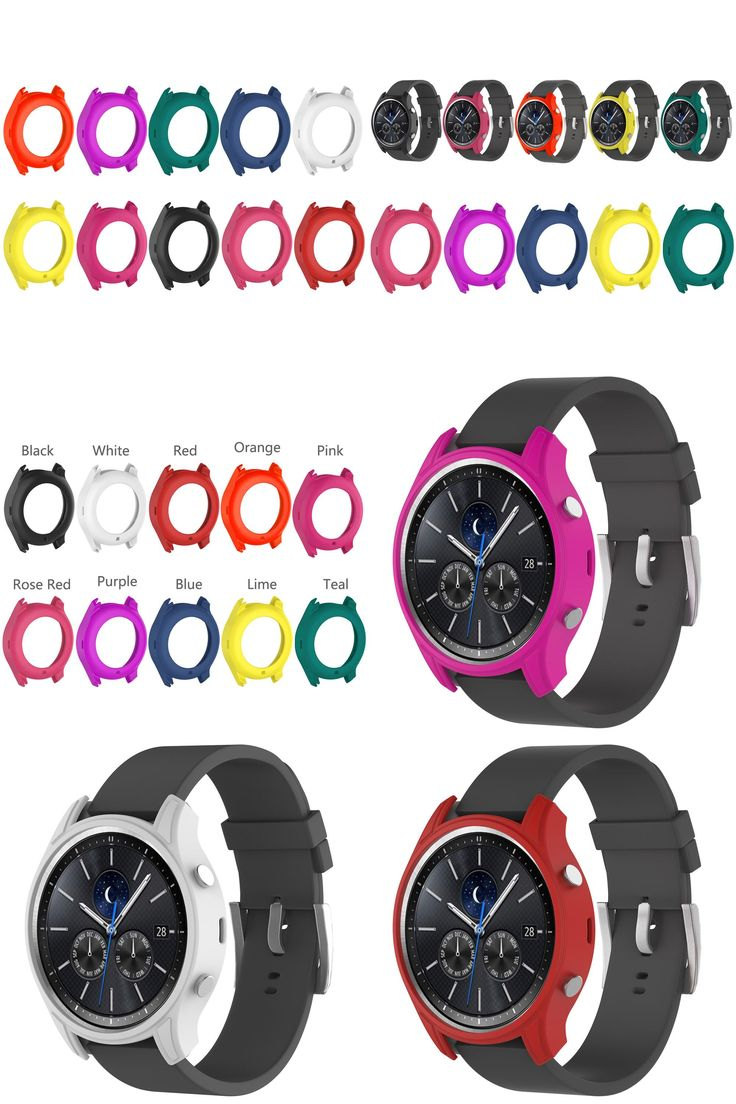 [Visit to Buy] High Quality Silicone Smartwatch Protection Cover Protect Case for Samsung Galaxy Gear S3 Classic SM-R770  #Advertisement