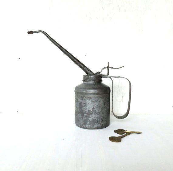 vintage plews oil can FILLER UP by DrVintage on Etsy, $15 00 | Oil