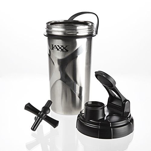 Fit & Fresh 24 oz Jaxx Stainless Steel Shaker Cup