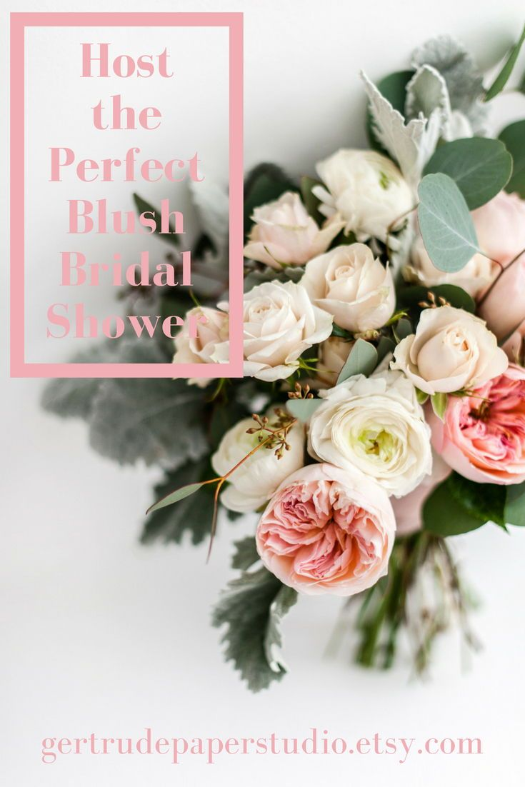 abaaed19e2c Host the Perfect Blush Pink Bridal Shower with These 12 Gorgeous Items!  From favors to