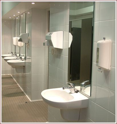 15 best bathroom stall images on pinterest bathroom for Church bathroom designs