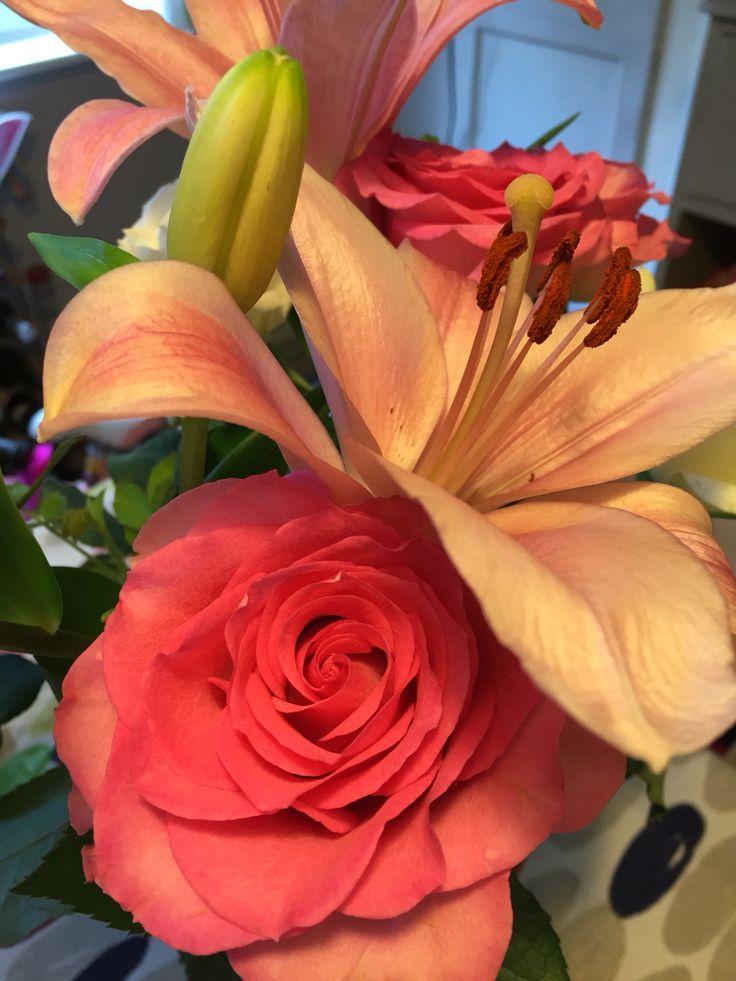 Birthday flowers from Mum x