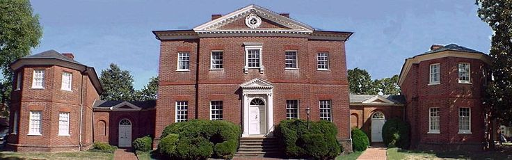 The Hammond-Harwood House in Annapolis, Maryland is one of the premier colonial houses remaining in America from the British colonial period (1607–1776). It is the only existing work of colonial academic architecture that was principally designed from a plate in Andrea Palladio's I Quattro Libri dell'Architettura, 1570, (The Four Books of Architecture). The house was designed by the architect William Buckland in 1773-74 for wealthy farmer Matthias Hammond of Anne Arundel Co., Maryland.