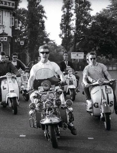 After Mods and Rockers, came Hippies in the 70s, Soulboys, Punks,