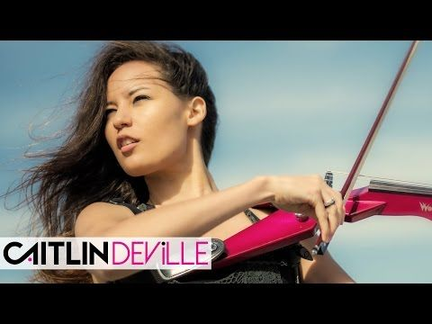 Alone (Alan Walker) - Electric Violin Cover | Caitlin De Ville - YouTube