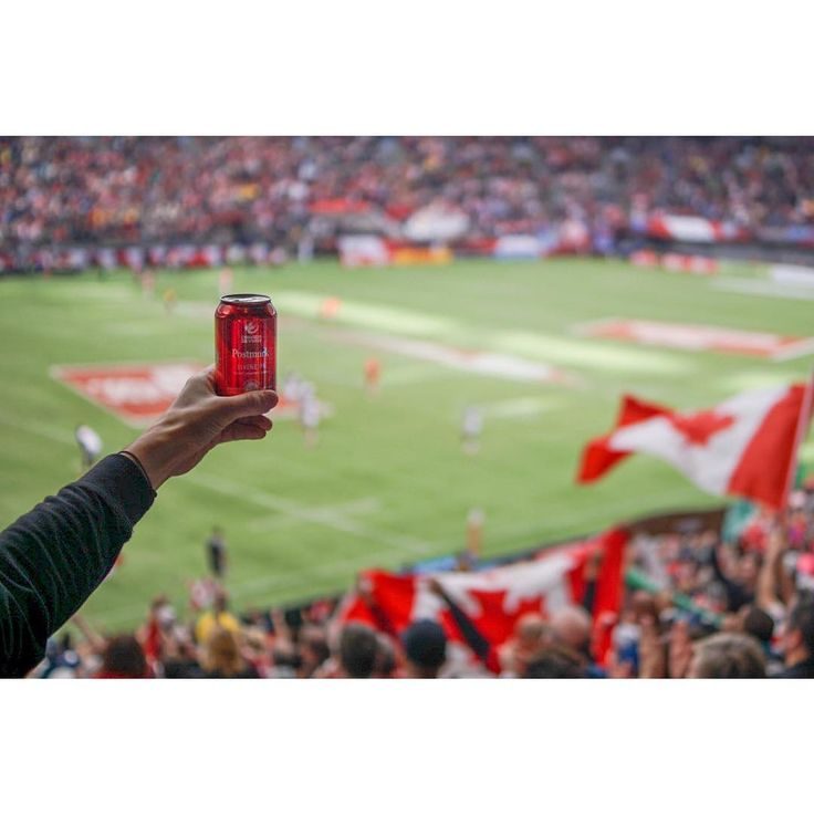 Canada Sevens | Showing our colours #postmarkbrewing #redcan