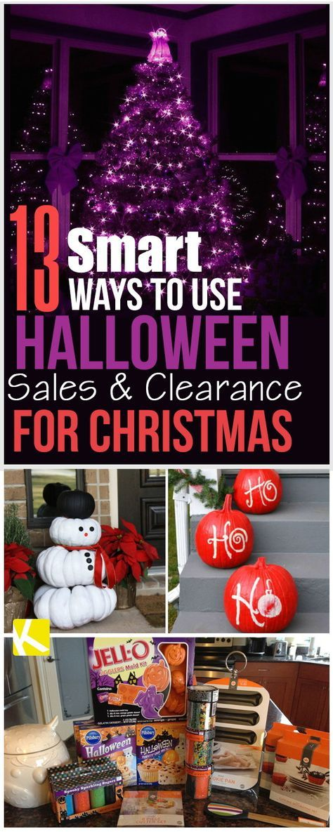 13 genius ways to use halloween sales clearance for christmas