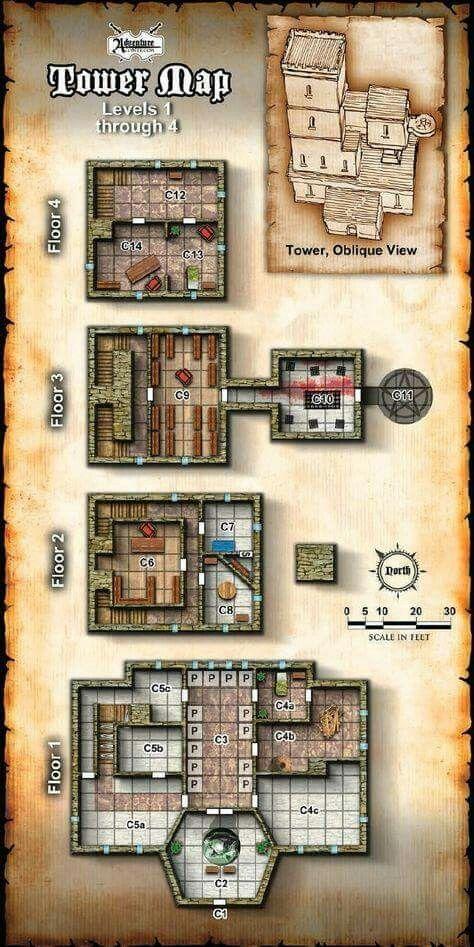 Random tower map                                                                                                                                                                                 More