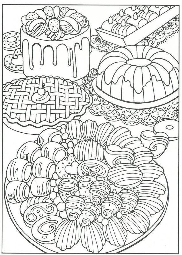 Food Coloring Pages Food Coloring Pages Cute Coloring Pages