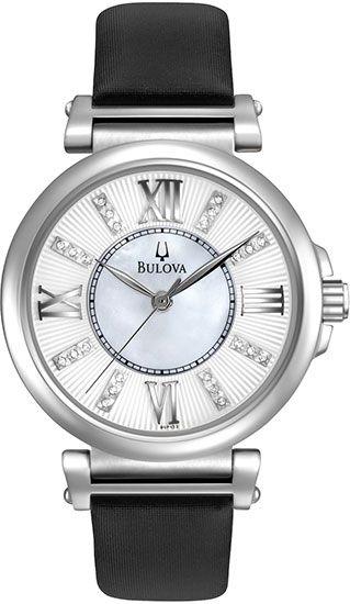 Zegarek damski Bulova Diamond 96P133 - sklep internetowy www.zegarek.net
