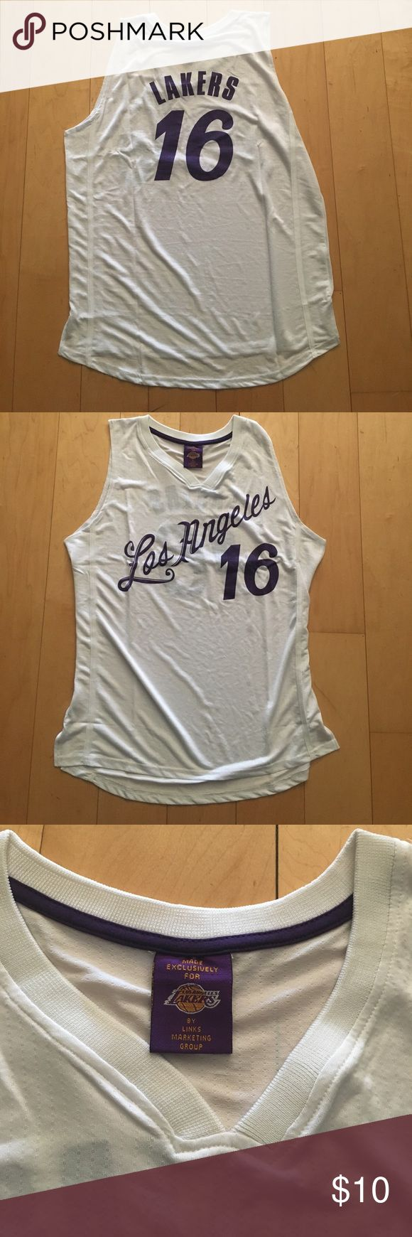 Lakers tank top, number 16, one size Brand new for basketball fans lakers Shirts Tank Tops