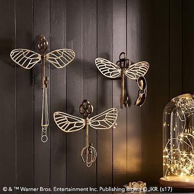 HARRY POTTER™ Flying Key Jewelry Hooks, Set of 3 #pbteen <-- I need these