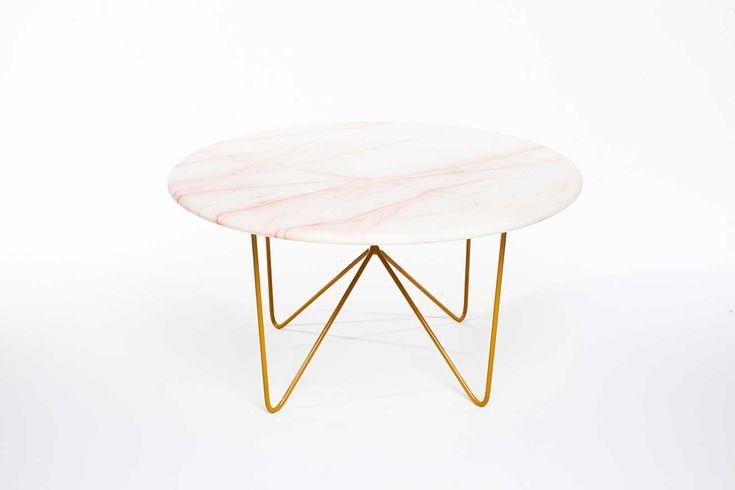 Modern, minimalist coffee table.