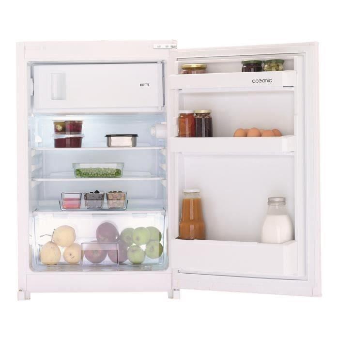 Oceanic Tt110e - Réfrigérateur Table top - 110l - Froid Statique - a+ - l 54cm x h 86cm - Blanc