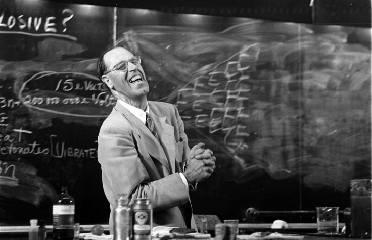 Hubert Alyea, 1953 | LIFE With Hubert Alyea: The Science Teacher You Wish You Had | LIFE.com: Vintage Science, Science Teacher, Hubert Alyea, Life Com