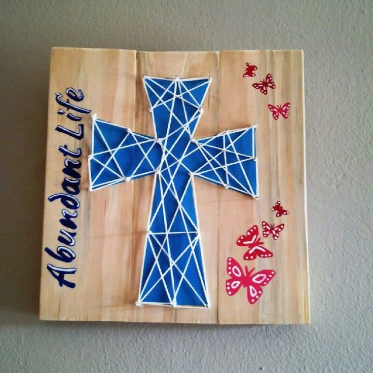 String Cross with words R120 each