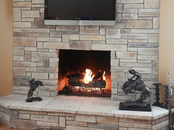 17 best images about ideas for the house on pinterest - Fireplace hearth stone ideas ...
