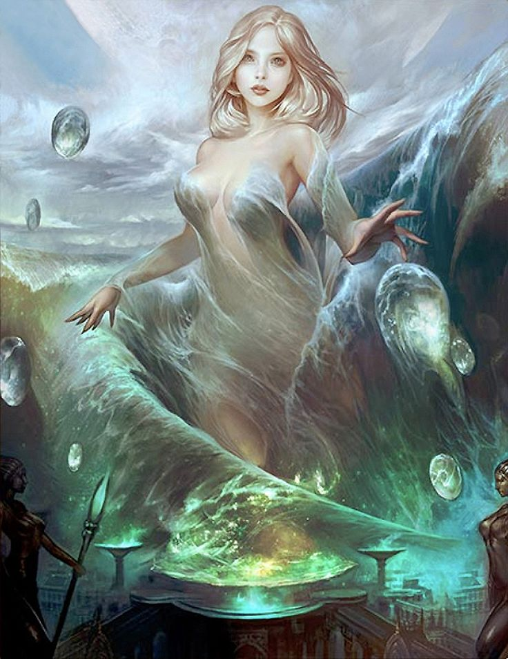 In Greek mythology, the Nereids (/ˈnɪəriɪdz/ NEER-ee-idz; Greek: Νηρηΐδες, sg…