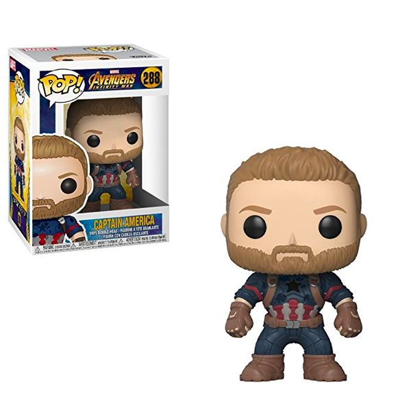 Funko Pop <b>Marvel</b>: <b>Avengers Infinity War</b>-Captain America ...