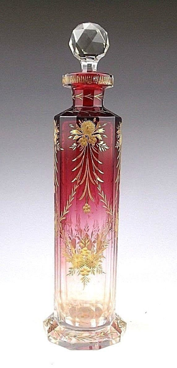 8579 best perfume bottles images on pinterest perfume Painting old glass bottles