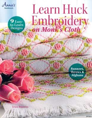 Learn Huck Embroidery on Monk's Cloth - $12.95 : MonksClothLady.com, your one-stop source for Top Quality Monks Cloth!