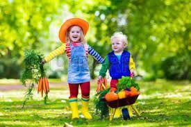 Afbeeldingsresultaat voor kinderen foto's groenten
