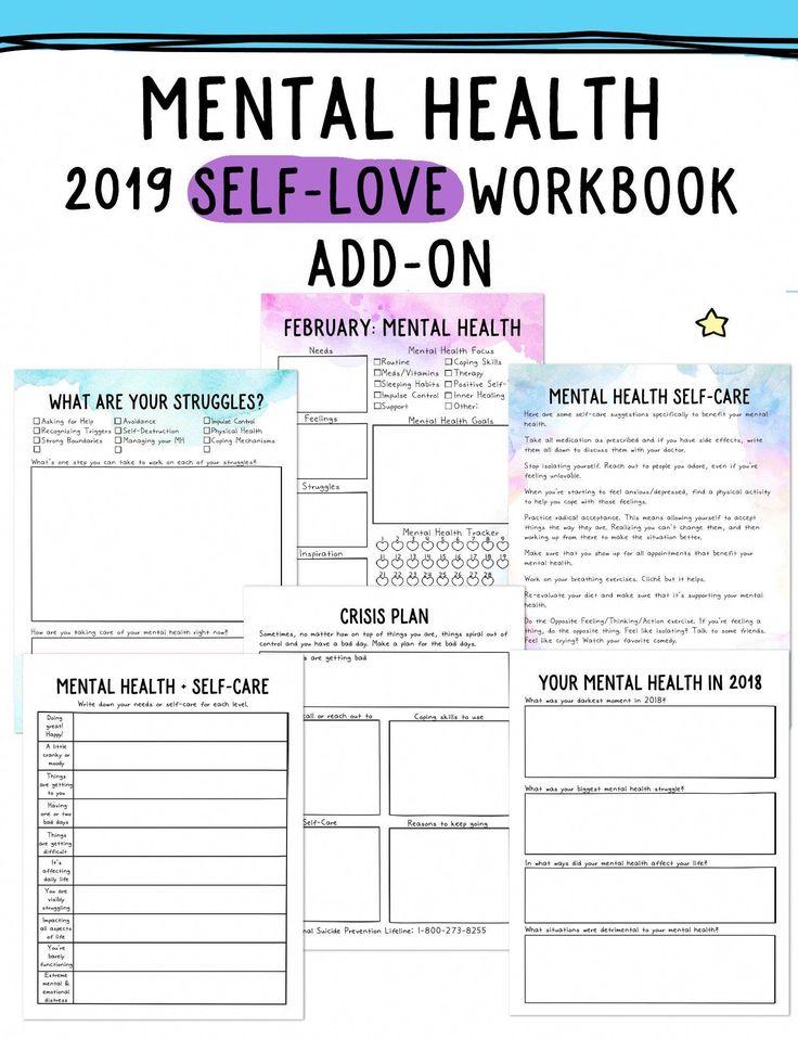 printables worksheets anxietyworksheets mentalhealth