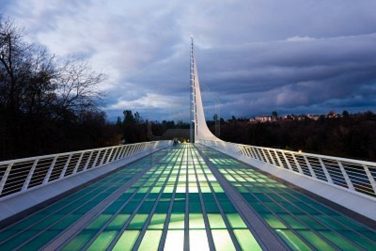 Sundial Bridge in Redding California, been here more times than I can count, I lived in Redding g or near Redding g for 25 yrs.