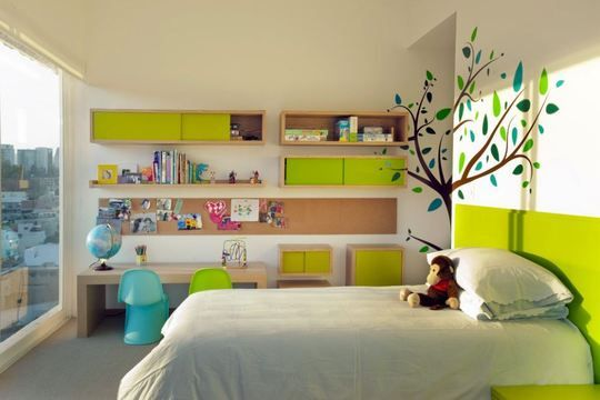 Lively Kids' Rooms